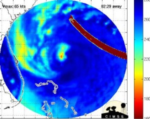 MicroWave Burst Takes Out Hurricane Lane. Sandy-anomalies-300x238