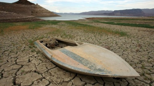 Drought Drops Lake Mead Water Level To 40 Year Lows