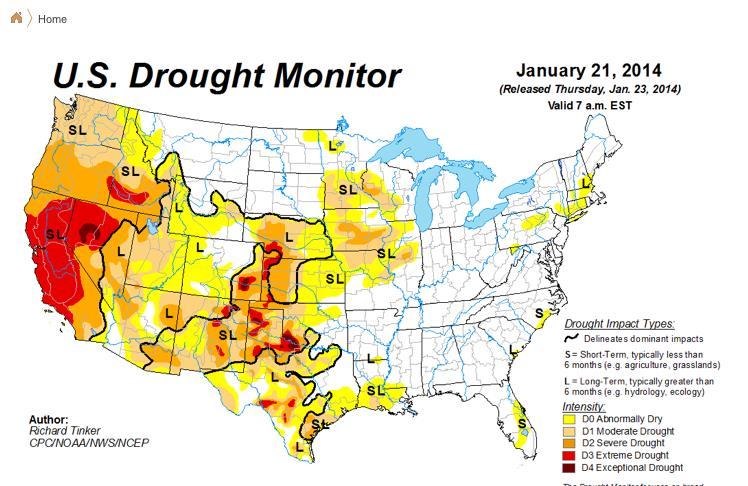 """Dane Wigington: """"What will it take to wake people up to weather warfare being waged on them?"""" Map-2"""