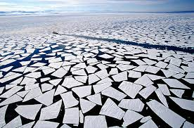 arctic ice fragmented