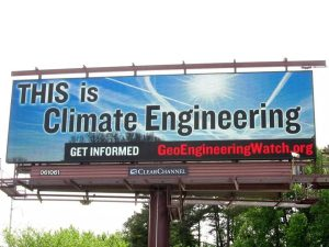 climate engineering billboard