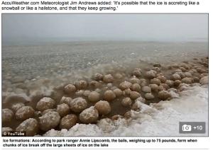 hailstone ice