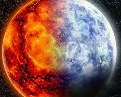 hot and cold earth