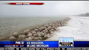 ice balls lakeshore news