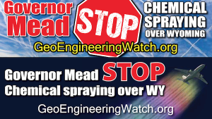 Gov Mead Stop the Spraying