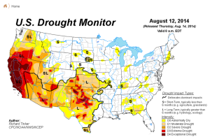 us drought monitor 2