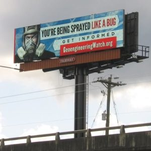 Billboard - Youre being sprayed