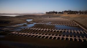 dried reservoir