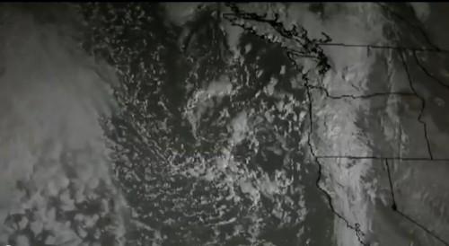 Oregon & California Drought, Pacific Low Killed, 10-20-2014