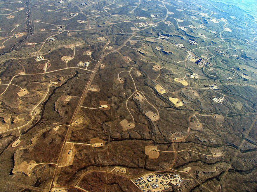 Fracking Operation in Pinedale, WyominG