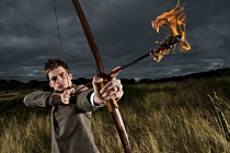 flaming-arrow