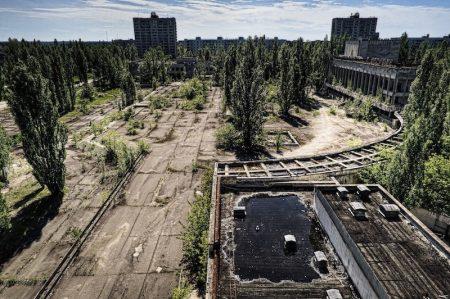 Abandoned city