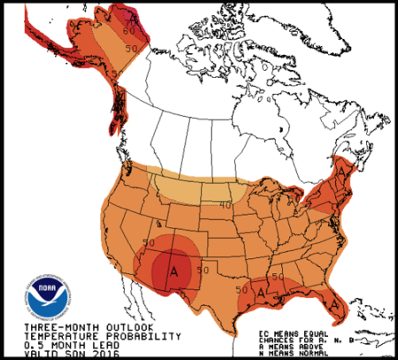 above normal and far above normal temperatures on us departure from normal temperature forecast maps should be extremely alarming to all of us