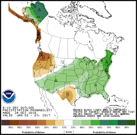 In The Noaa Map Above We Should Ask This How Does Moisture Flowing In From The Pacific Migrate Directly Over The Western States With Far Below Normal