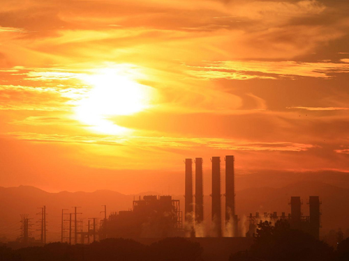 The San Fernando Valley Generating Station in Sun Valley, California Getty Images