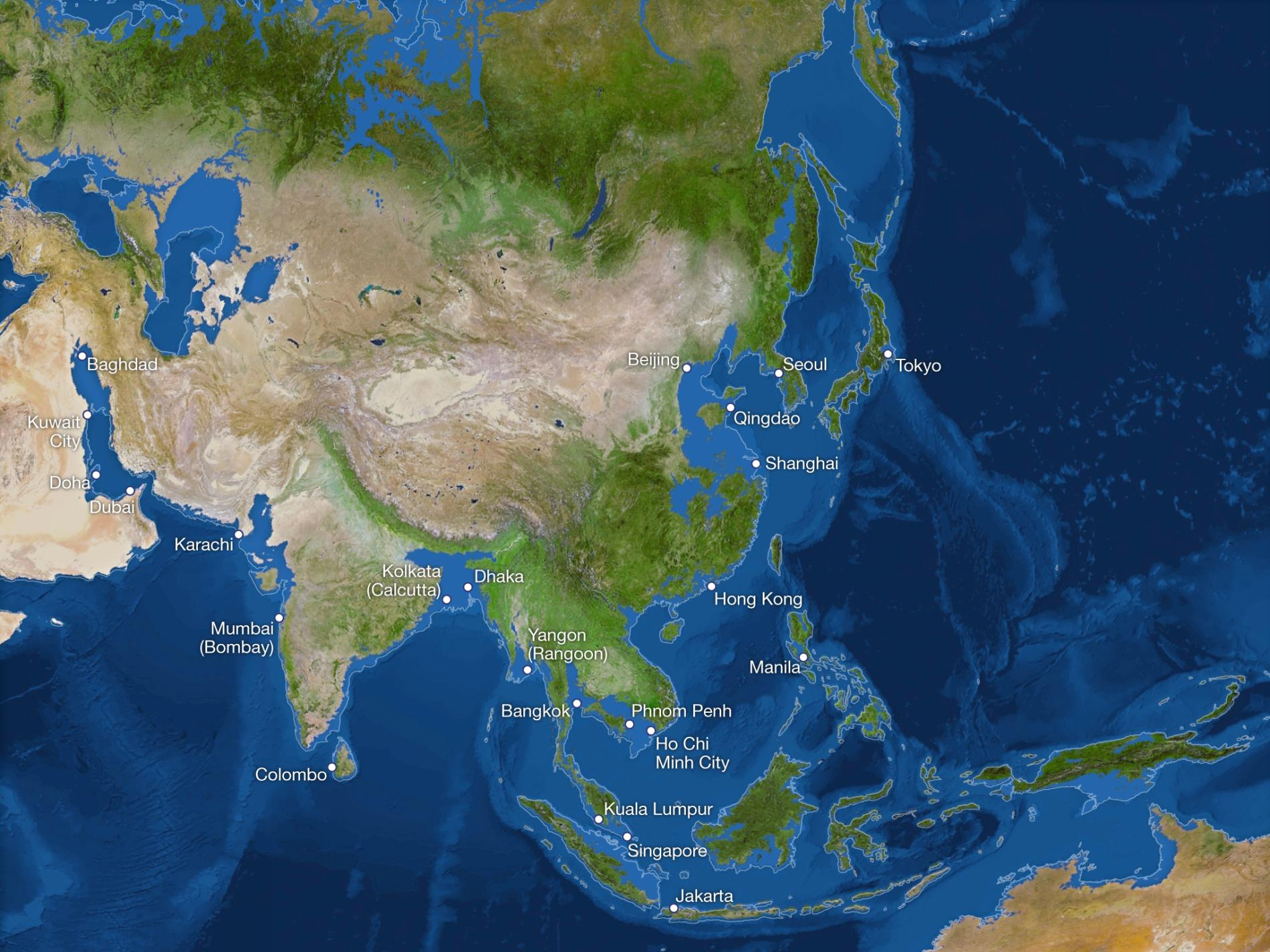 What The World Would Look Like If All The Ice Melted What The - Map of us after ice caps melt
