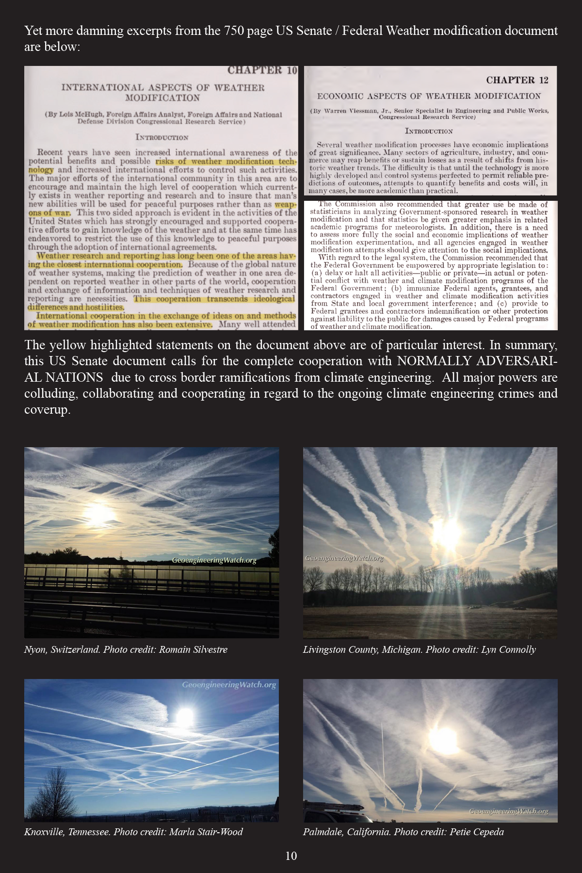 Climate Engineering Fact And Photo Summary - page 10