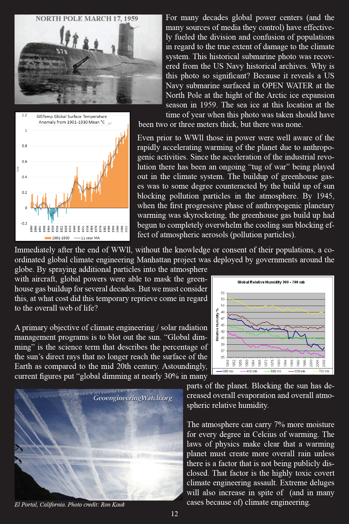 Climate Engineering Fact And Photo Summary - page 12