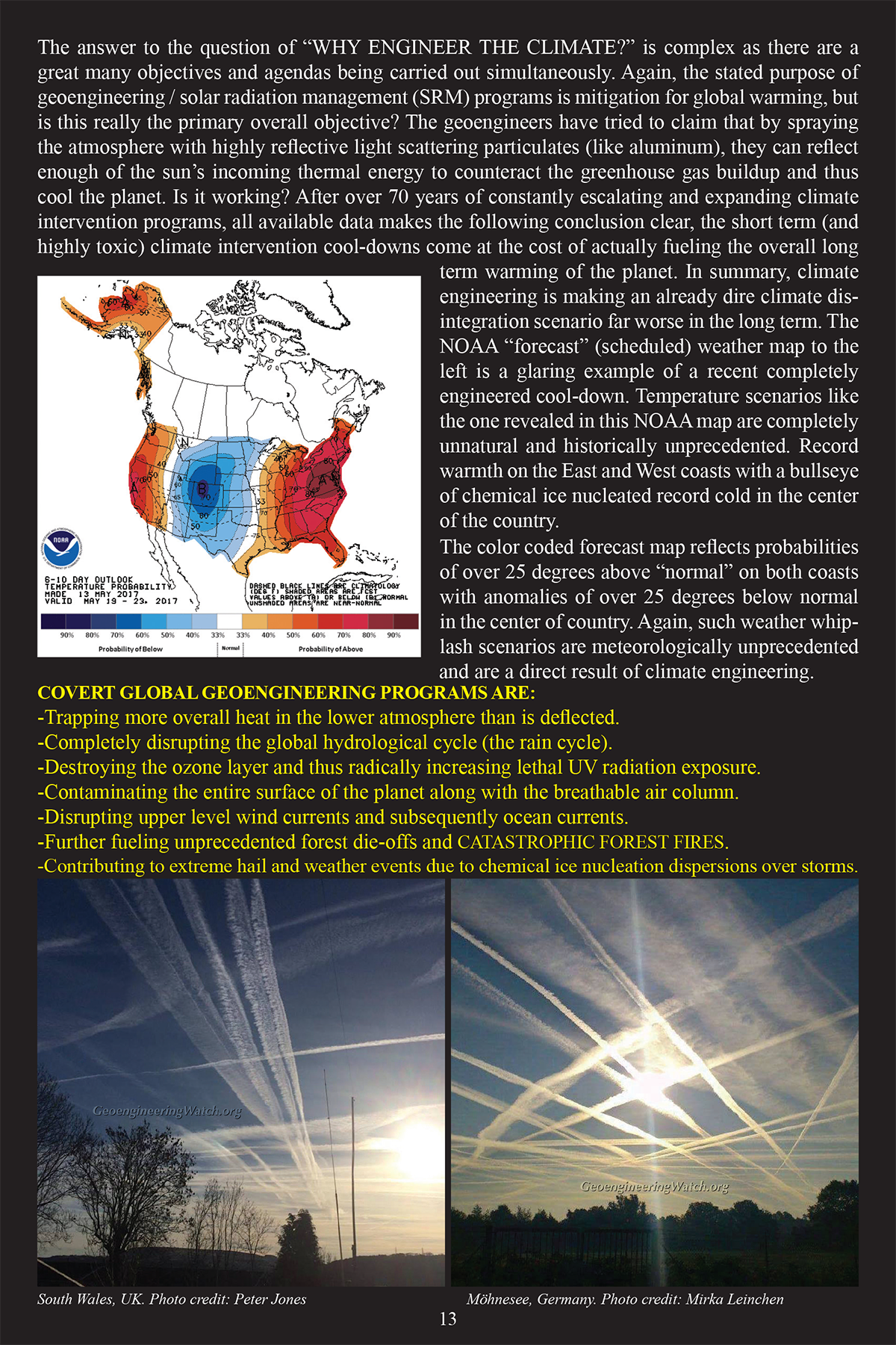 Climate Engineering Fact And Photo Summary - page 13