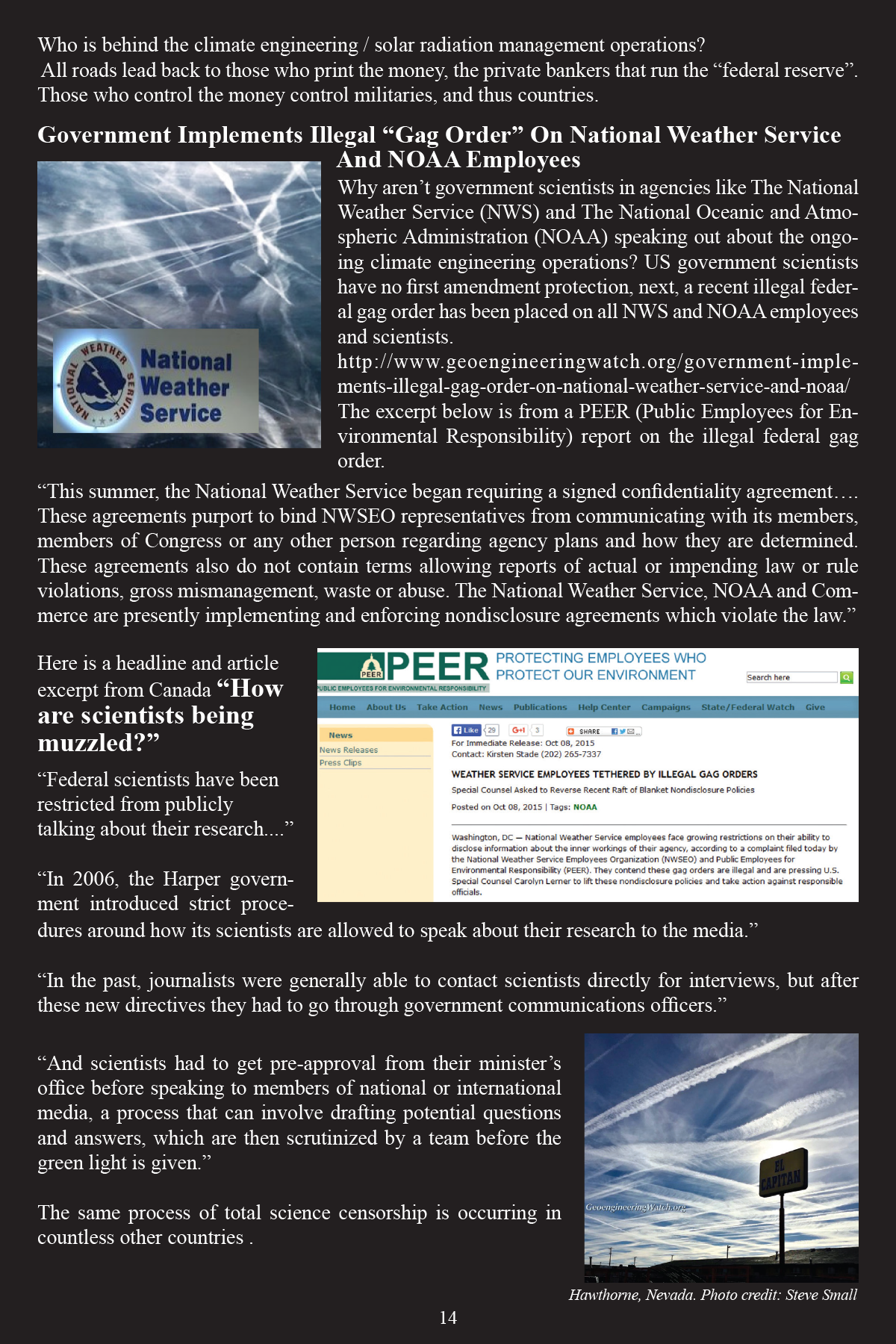 Climate Engineering Fact And Photo Summary - page 14