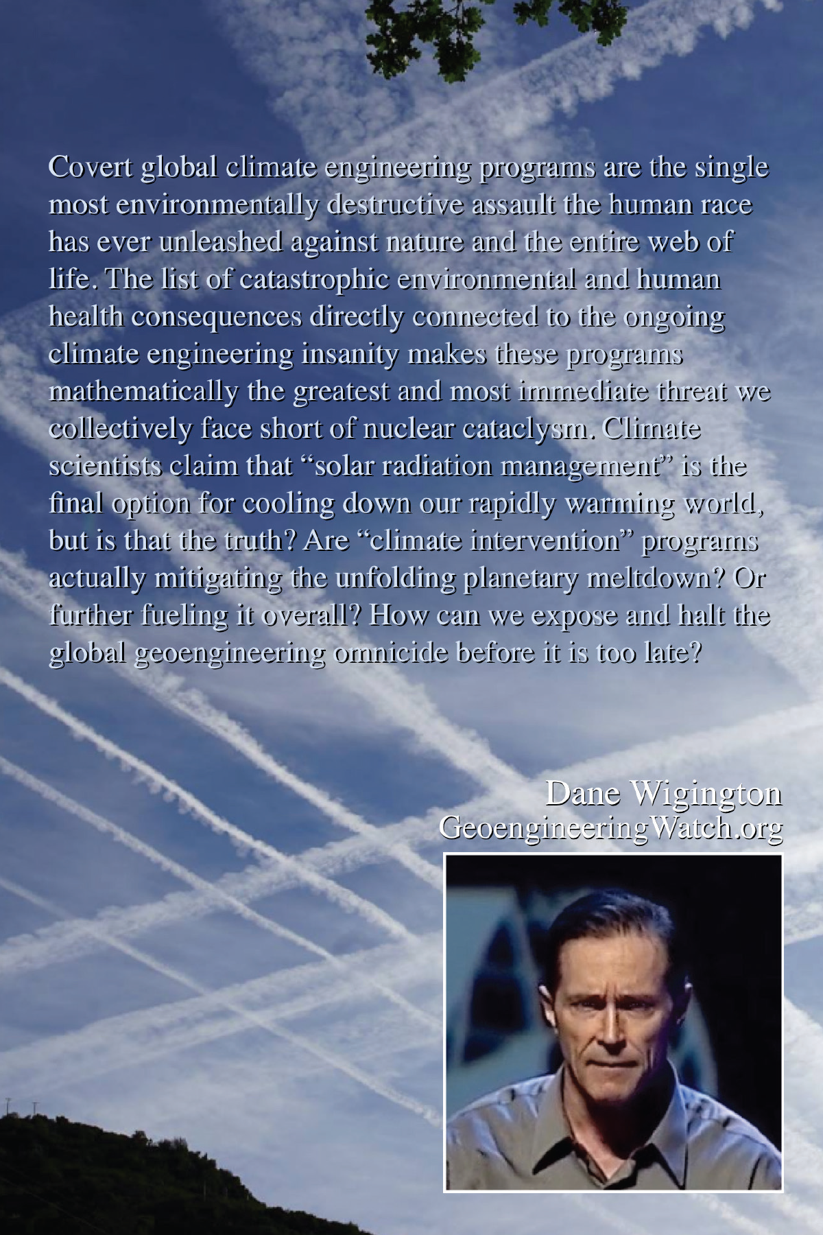 Climate Engineering Fact And Photo Summary - back
