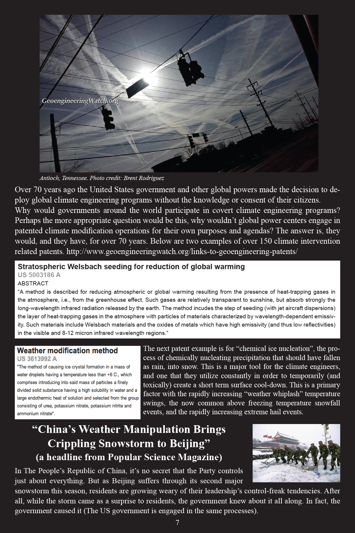 Climate Engineering Fact And Photo Summary - page 7