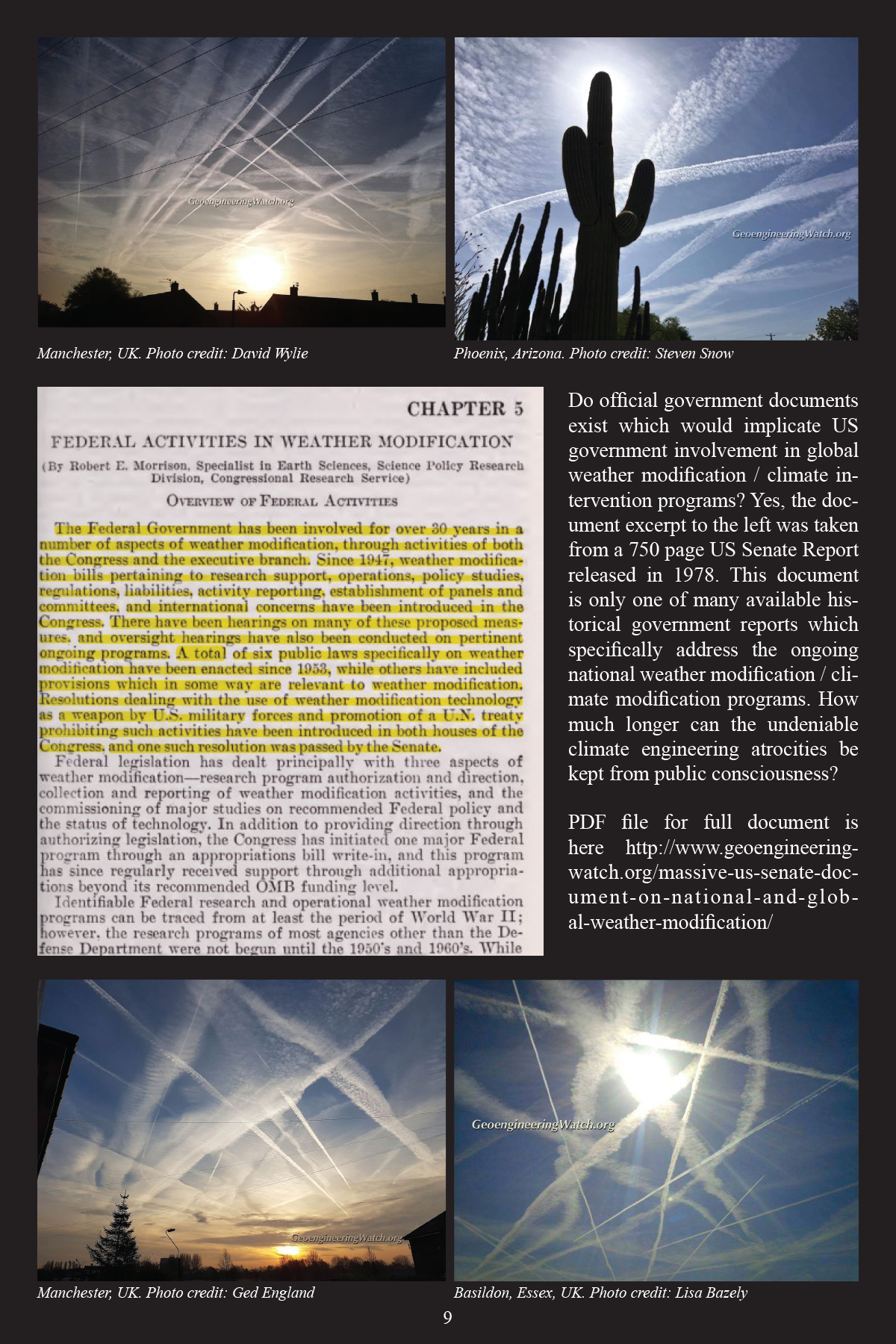 Climate Engineering Fact And Photo Summary - page 9