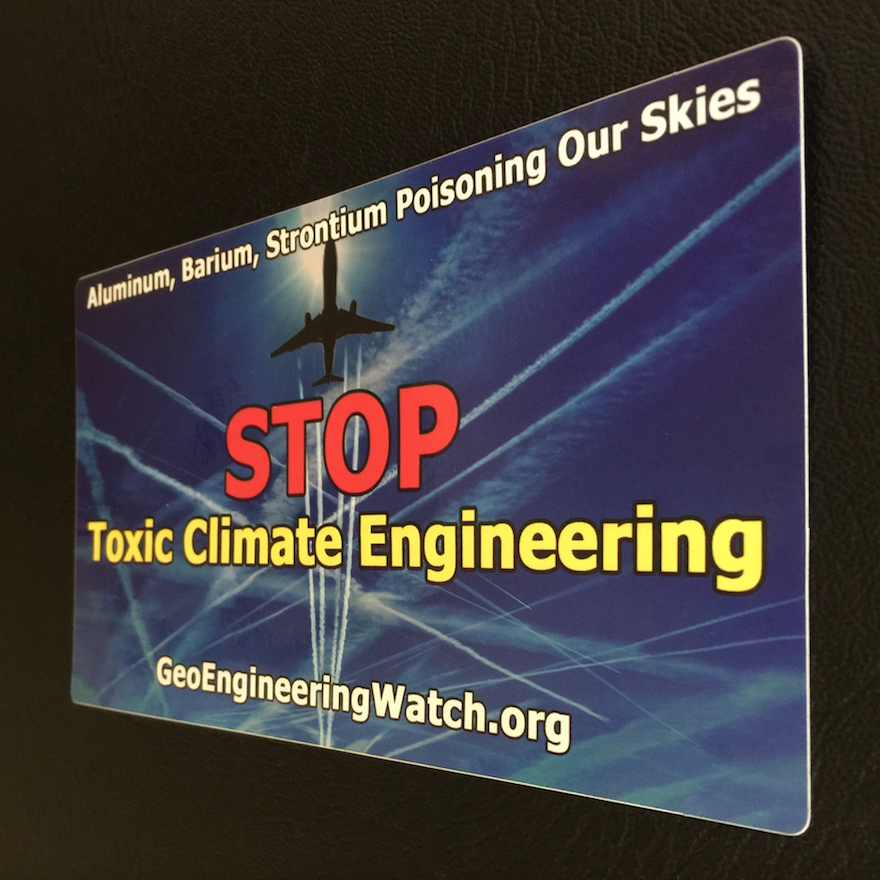 GeoengineeringWatch.org bumper sticker