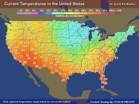 the weather channel temperature map below further reveals the completely anomalous and unnatural cool down that climate engineering and chemical ice