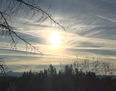 Geoengineering Watch Event, October 20th, 2018